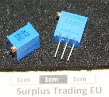 "Bourns 3299W 3/8"" Square 200KΩ Vertical Trimpot Preset Resistor clone"