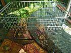 Large Vintage Rustic Farm Metal Wire Basket 26 x 14 x 9
