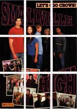 Smallville Season 1 Full 9 Card Smallville High Puzzle Chase Set from Inkworks