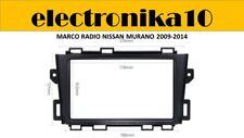 Soporte Marco radio 2din embellecedor Nissan Murano 2009 2014