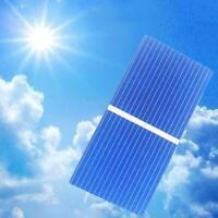 20Pcs Solar Panel Cells Polykristalline Photovoltaik Ladegerät DIY Neu