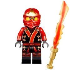 Lego Ninjago Kai Ninja Minifigure with Blade of Fire Sword from 70500 Like new