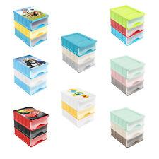 Schubladenbox A5 Box Schubladen Kiste Aufbewahrungskiste Viele Farben 24x17x25