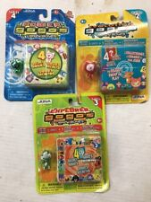Gogo's Crazy Bones Mystery Pack LOT Of 3 Different Sets, 15 Gogo's! Amazing!