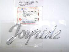 Neu ORIGINAL SYM Joyride Schriftzug 3D/  Cover Emblem OEM 87127-H81-000-T1