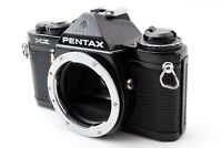 NEAR MINT Asahi Pentax ME black 35mm SLR Film Camera Body Only From JAPAN