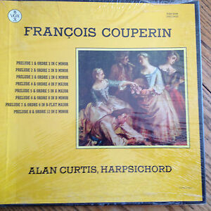 HARPSICHORD New 3 Lp SEALED  Vox Vinyl  Record  BOX SET COUPERIN Alan Curtis