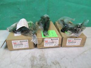 (QTY. 3) DENSO INJECTOR GM ISUZU 8-98110607-4 98110607 CORE USED FREE SHIPPING