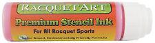 Racquet Art Premium Stencil Ink - Water Based - Pink