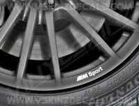 8x BMW M Sport Logo Premium Quality Wheel Rim Decals Stickers Alpina M3 M4 X3 X5