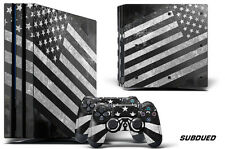 Skin Decal Wrap For PS4 PRO Playstation 4 Pro Console + Controller Stickers SUBD