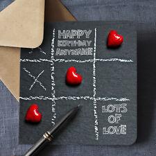 PERSONALISED Birthday Card WIFE Husband BOYFRIEND Girlfriend PREMIUM QUALITY