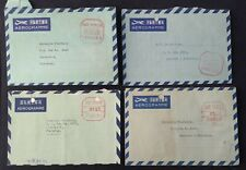 CHINA TO PAKISTAN POSTALY USED METER MARK COVERS WITH DIFFERENT CANCELLATINS
