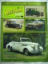 Studebaker History Restored Cars No 35 Magazine