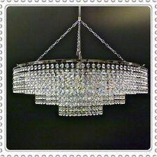 Lead Crystal Chandelier chandlier Chandalier Light Lamp Chrome 60cm dia ITPL60/2
