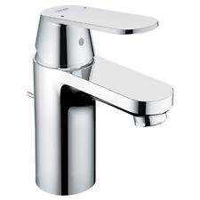 grohe eurosmart single hole bathroom faucet with popup drain chrome