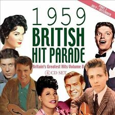 The  1959 British Hit Parade, Pt. 2: July-December by Various Artists (CD,...