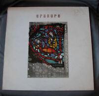 """LP 12"""" 33 rpm ERASURE - THE INNOCENTS - 1988"""