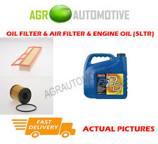DIESEL OIL AIR FILTER + FS PD 5W40 OIL FOR FIAT GRANDE PUNTO 1.3 75 BHP 2008-
