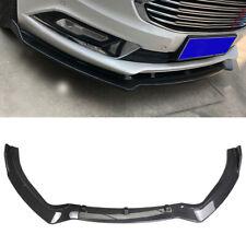 Front Bumper Lip For 2019 2020 Ford Fusion Spoiler Splitter Carbon Fiber Style
