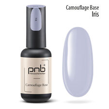 PNB Camouflage COLOR BASE for nail gel polish Color: mint, yellow, purple, peach