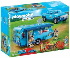 Playmobil 9502 Pick Up & Caravan Play Set, New