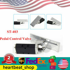 St 403 Pneumatic Pedal Control Valve 2 Position G38 Air Pneumatic Switch