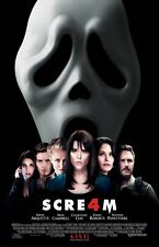 Scream 4 movie poster  (b) Wes Craven, Horror  -  11 x 17 inches Scream poster