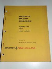 New Holland Service Parts Catalog Model 425 1425 Baler Issue 4 - 79