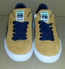 23dc5cb90bb5d2 PUMA - SUEDE SUPER PUMA INCA GOLD   PEACOAT NEW MEN S Sneaker SIZE 10.5