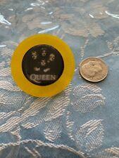 Rock Band Queen poker chip Jewelry Pin Freddie mercury nr bohemian rhapsody love