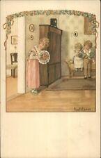 Pauli Ebner Well-To-Children Series #1350 c1910 Postcard #2