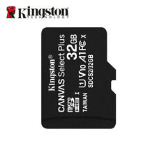 NEW Kingston 32GB Canvas Select PLUS MicroSDHC Card A1 C10 UHS-I up to 100MB/s