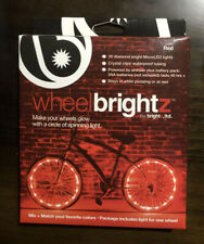 WheelBrightz Bicycle Light LED Bicycle Light Kit ABS Plastics Red