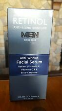 Skincare Cosmetics Retinol Skincare for Men Anti-Wrinkle Facial Serum  1 oz NIB