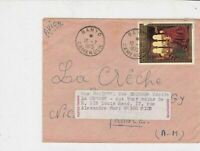 cameroun 1975 oil painting picture airmail stamps cover ref 20463