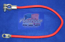 """UNIVERSAL 12"""" Long Red Battery Cable Fits Multiple Applications."""