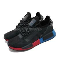 adidas NMD_R1 V2 Black Blue Red Mens Womens Running Lifestyle Shoes BOOST FV9023