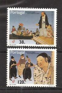 [9209] Portugal, 1992 MNH** Complete set. Arrival of the Portuguese in Japan