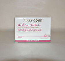 Mary Cohr Matifying Clarifying cream 50ml/1.7oz. New in box
