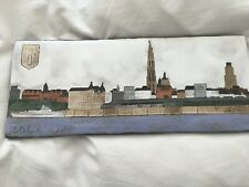 Ceramic wall plaque by Zola