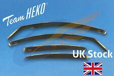 AUDI A4 B8 4-doors Saloon 2009-2015 4-pc Wind Deflectors HEKO Tinted