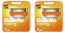 Gillette Fusion 5 X2 (10 Recharges) lames de rasoir