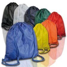borsa in nylon per palestra piscina campeggio porta scarpe 37 x 40 cm 8 colori