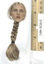 Pop Toys Saint Knight Jeanne La Pucelle Head w/ Ponytail 1:6th Scale Accessory