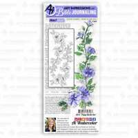 Art Impressions Bible Journaling Clear Stamps Poppy Border 750810797187