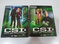 Csi Le Vegas Seconda Stagione Completa - 6 X DVD Inglese Portuguese