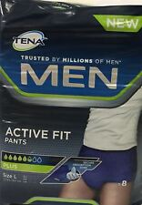 Tena Men Active Fit Pants Plus Large 8 Pants