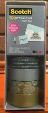 Scotch Expressions Washi Tape 4 Pack  Silver and Gold. New Stock 472