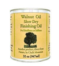 Bowl Maker Walnut Oil Finisher (1) Quart 100% Food Safe Natural Filtered Oil